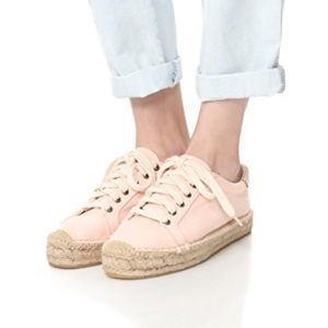Soludos Lace Up Espadrille size 9